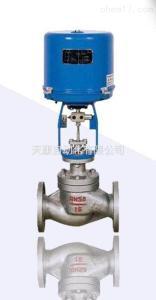 气动单座气动蒸汽气动比例流量调节阀