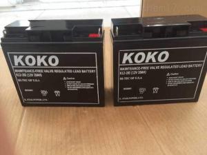 6GFM38 KOKO蓄电池12V38AH后备电源